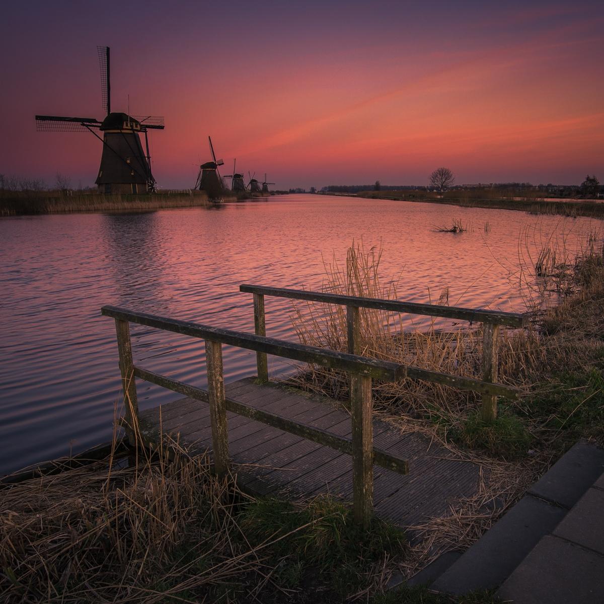 Kinderdijk molens Zuid-Holland