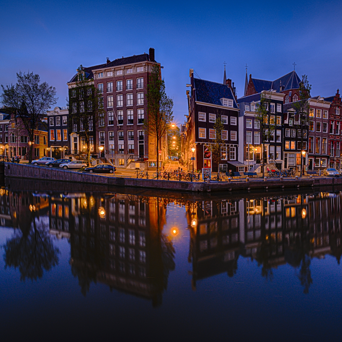 Herengracht Amsterdam Blue...