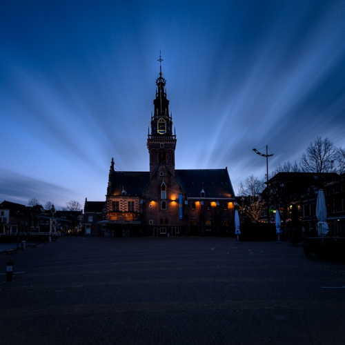 Waag Alkmaar Long Exposure