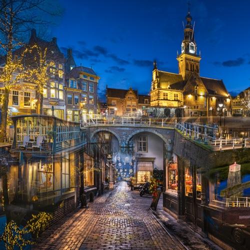Alkmaar Blue Hour Collage